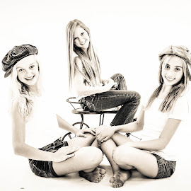 oldie by Aretha De Jager Botha - Babies & Children Children Candids ( girls, female, teenagers, children, kids )