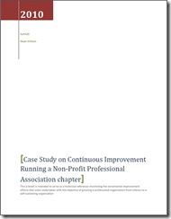 Download the Case Study on Continuous Improvement in a Professional Association