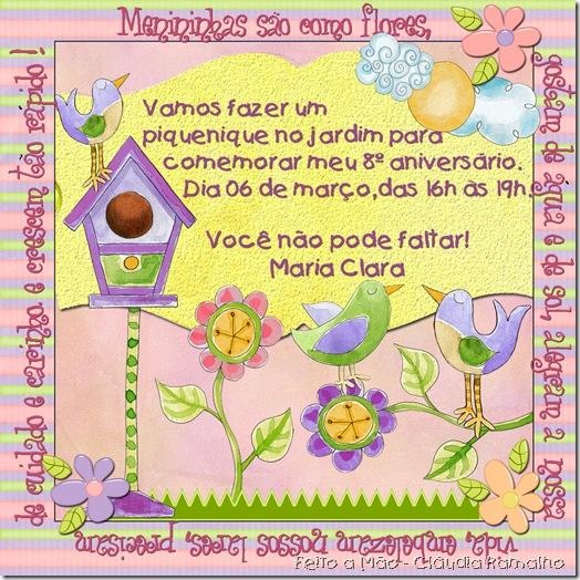 convite Maria Clara - 8anos cópia