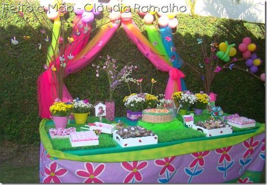 enfeites para festa infantil tema jardim : enfeites para festa infantil tema jardim:Enfeite De Mesa Tema Jardim Encantado R 4500