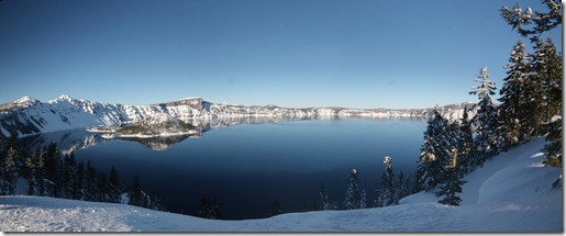 OR - crater lake Panorama