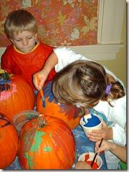 Pumpkin Painting on High Street 002