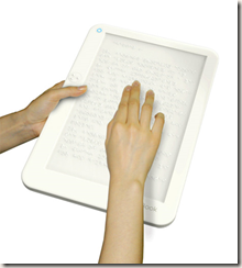 Braille e-book reder
