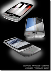 Nokia N Series Concept, Designed by Jared Thompson