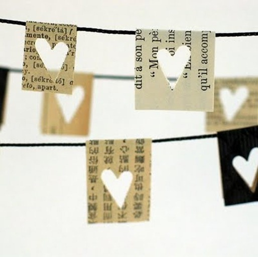 clothesline papers with cut out