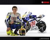 Valentino Rossi - MotoGP 2010 Fiat Yamaha Team #3