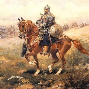 Caballeria pesada hacia 1650