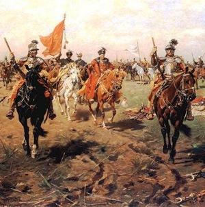 Húsares y Gran Hetman 1650