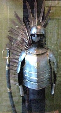 Polish winged hussar (cavalryman)