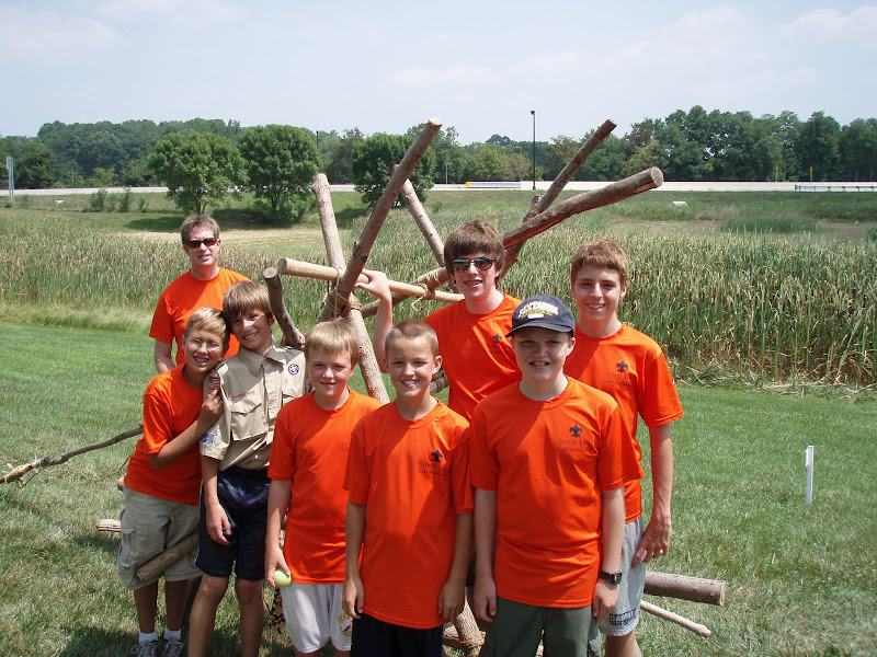 Carmel Boy Scouts Troop 132 Carmel wins Catapult Contest again