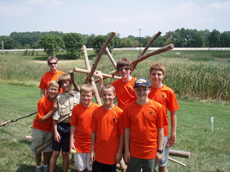 Carmel Boy Scouts Troop 132 Carmel wins Catapult Contest again