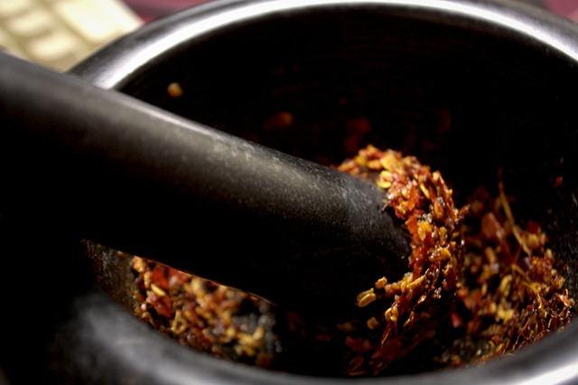 A secret blend of spices, oils, and salts