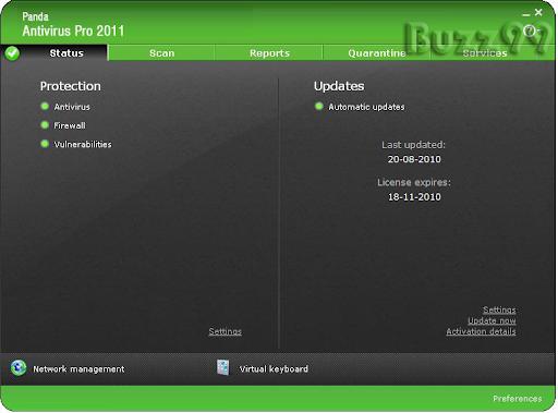 panda antivirus pro 2011 download serial