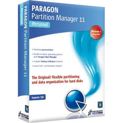 Paragon Partition Manager 11 Personal Edition FREE for UK Citizens