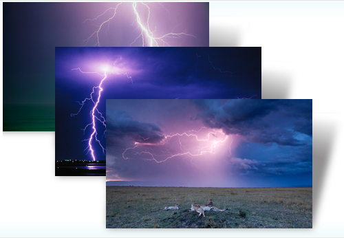 Download Lightning Theme Pack for Windows 7
