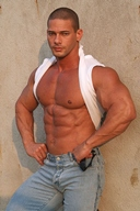 Muscle Hunk - Claude Carroll Lots of Muscle, Lots of Flexing