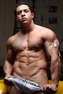 Mark Monty - MuscleBoy with Muscle Car