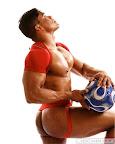 black muscle men Jaime Lee