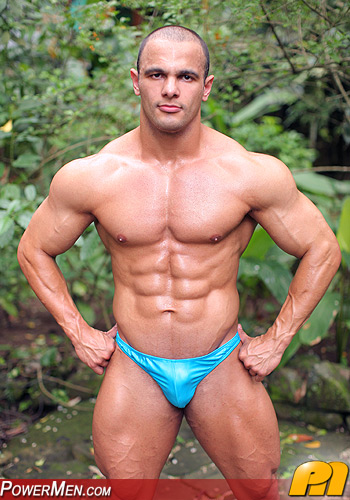 Muscle Hunk PowerMen John Spinelli