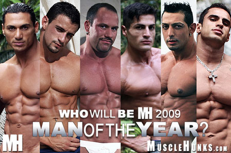 MuscleHunks 2009 Man of the year