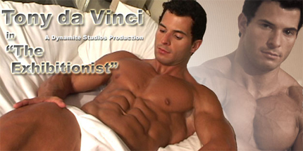 Tony da Vinci - MuscleHunks HD