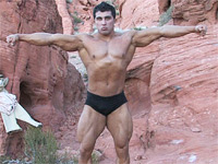 Karl Kasper - PowerMen Muscle Hunk Model - The Friendly Muscle Boy
