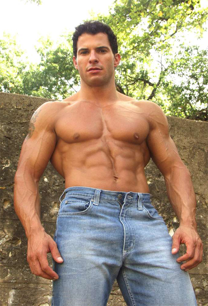 Tony Da Vinci (aka Tony Giles) - Top Male Bodybuilder and MuscleHunks Model