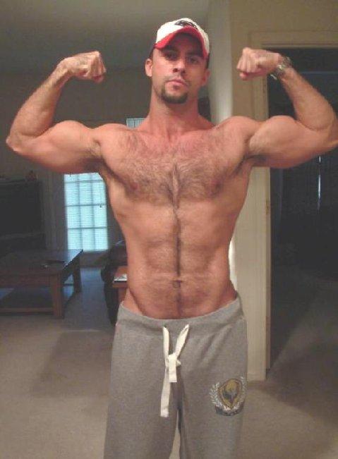 Hairy Muscle Men 47