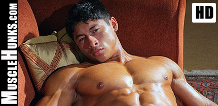 Ko Ryu - Hot Japanese Male Bodybuilder MuscleHunks HD