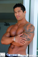 Exotic Beauty, Kim Cebú - Rock Hard Abs MuscleHunk