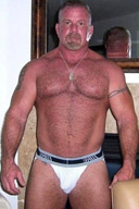 Muscle Daddy and Hairy Muscular Men - Gallery 3