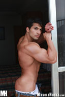 Benjamin Jackson - Beautiful Muscleboy, little brother of Amerigo