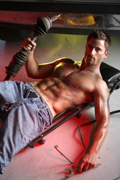Abram Clark - Male Fitness Model