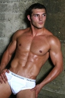 Hot Muscle Male Model - Cazimir