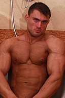 Muscle Hunk - Rocky Remington, Stage Quality