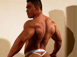 MuscleHunks - Manuel Melia - Glute Boy is Back