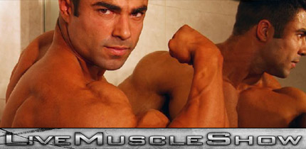 Eduardo Correa at Live Muscle Show