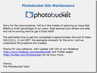 photobucket site maintenance