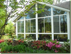 Sunroom from the outside