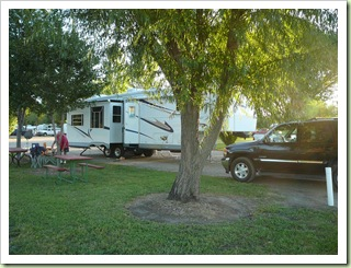 Mill Creek RV Park site