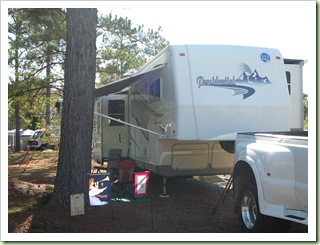 Site 92 at Hardeeville RV