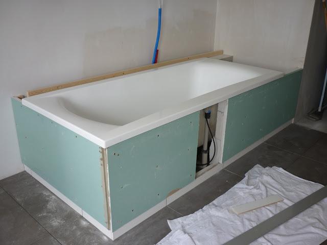 Badkamer bad installeren for Badkamer tekening maken