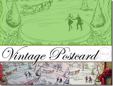 Vintage Postcard Graphic