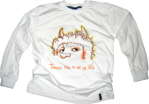 Camiseta-infantil-Where-The-Wild-Things-Are---Ainon