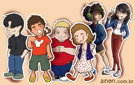 Caricaturas - Ainon