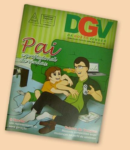 Capa DGV - Dia dos Pais
