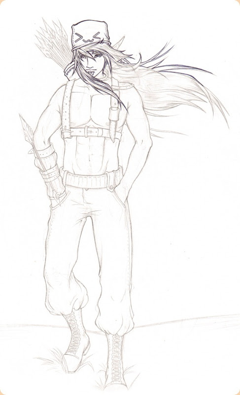 sketch do dia 55