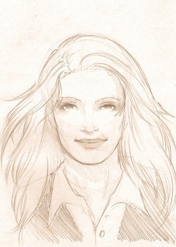 Sketch Olivia Dunham