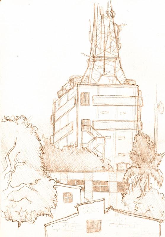 Sketch do dia na rua americo ceppa