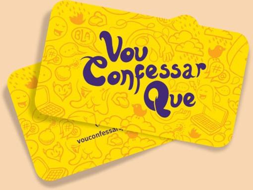 Vou confessar Qure  - cartoes blog